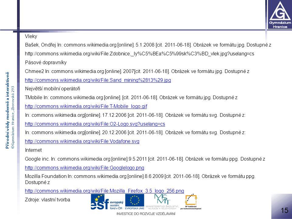 Vleky Bašek, Ondřej In: commons.wikimedia.org [online]. 5.1.2008 [cit. 2011-06-18]. Obrázek ve formátu jpg. Dostupné z.